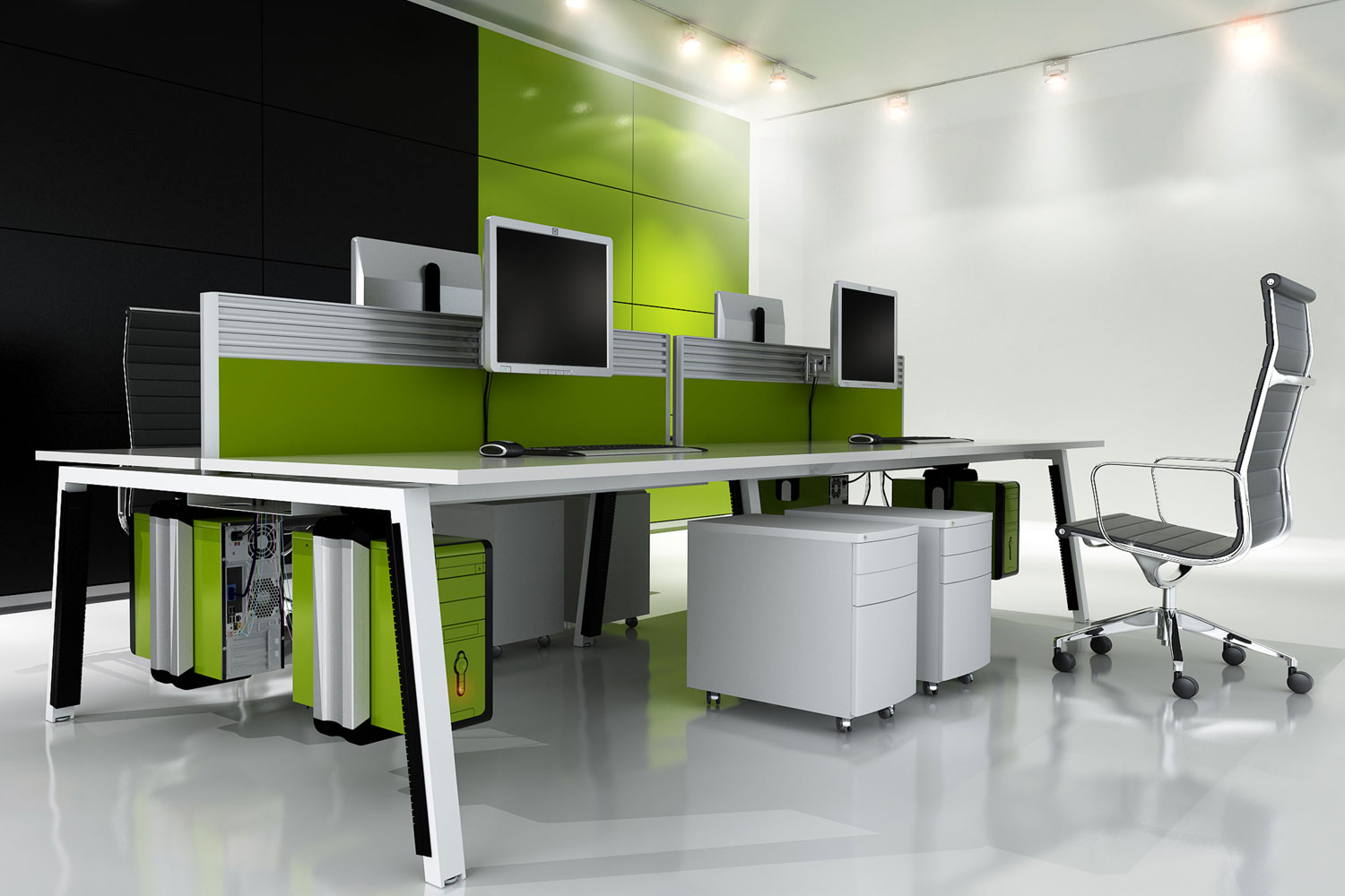 Office interiors basingstoke astra office interiors for Interior design for office furniture